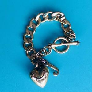 {Juicy Couture} Heart & Signature Charm Bracelet